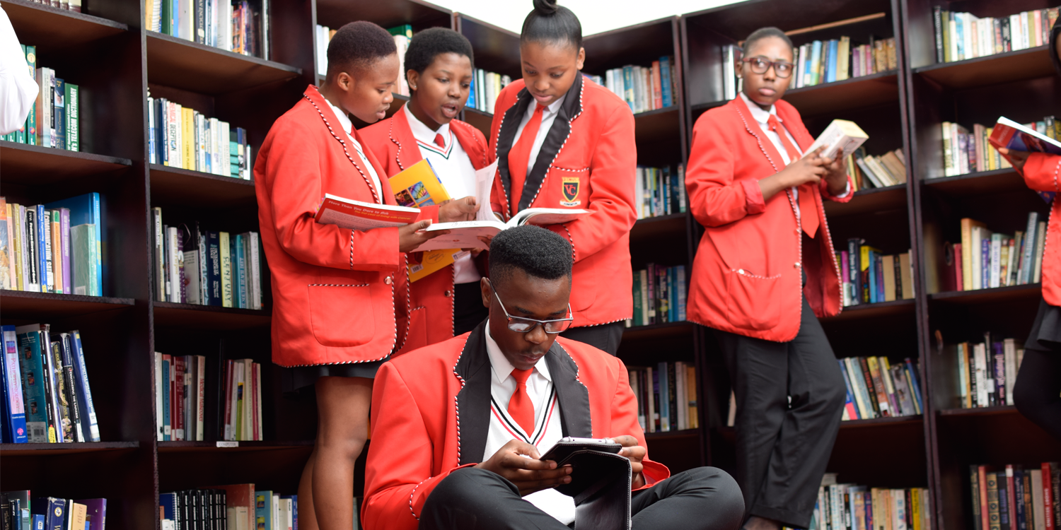 Vector Students in the Library